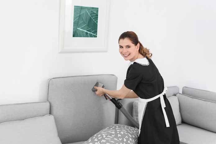 Evde Buharlı Temizlik